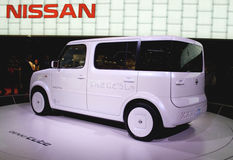 Nissan Denki Cube EV electric car Royalty Free Stock Photography