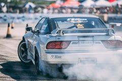 Nissan di spostamento 180SX Fotografie Stock