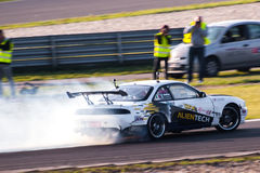 Nissan drift car Royalty Free Stock Images
