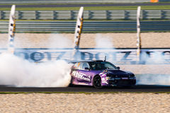 Nissan drift car stock image