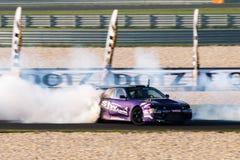 Nissan drift car Stock Image