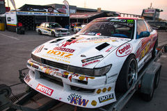 Nissan drift car Royalty Free Stock Image