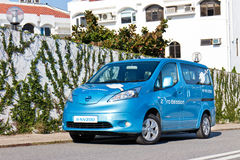 Nissan e-NV200 2014 Test Drive Stock Image