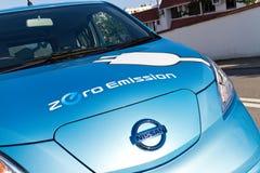 Nissan e-NV200 2014 Test Drive Stock Photography