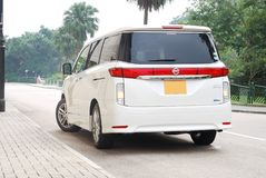 Nissan Elgrand MPV Stock Photos