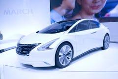 Nissan Ellure Concept Car Imagen de archivo libre de regalías
