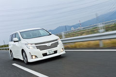 Nissan ENGRAND 2012 Model Royalty Free Stock Photo