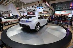 Nissan esflow concept car rear Stock Image