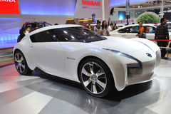 Nissan esflow concept car Stock Photos