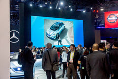 Nissan Exhibit at CES 2017 Stock Images
