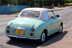 Nissan figaro vintage car Stock Photography