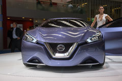 Nissan Friend-Me Concept Photographie stock libre de droits