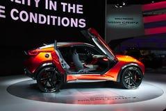 Nissan Gripz begrepp på IAA-bilarna Arkivbild