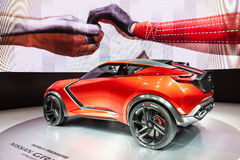 Nissan Gripz Concept at the IAA 2015. FRANKFURT, GERMANY - SEP 22: Nissan Gripz Concept Crossover at the IAA International Motor Show 2015. September 22, 2015 in Stock Photography