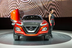 Nissan Gripz Concept - world premiere. Stock Photography