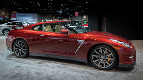 2014 Nissan GT-ρ Στοκ Φωτογραφία