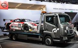 NISSAN GT3 Nismo samochód wyścigowy Obrazy Stock