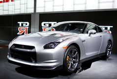 NISSAN GT-R Royalty Free Stock Photos