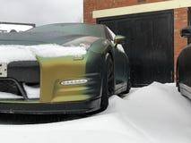 Nissan GT-R fotografía de archivo libre de regalías
