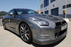 Nissan GT-R - Car - Race - Transportation Stock Images