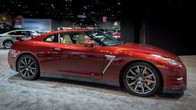 Nissan GT-R 2014 Arkivbild