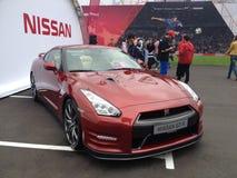 Nissan GT-R [35] Imagem de Stock Royalty Free