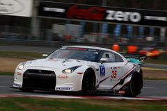 NISSAN GT-R(FIA GT) Royalty Free Stock Photography
