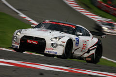 NISSAN GT-R(FIA GT,Spa24h) stock images