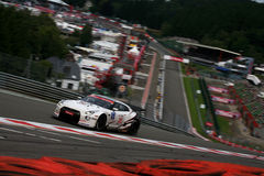 NISSAN GT-R(FIA GT,Spa24h) Royalty Free Stock Photos