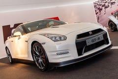 Nissan GT-R Front Shot Fotografia Stock Libera da Diritti