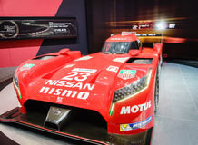 Nissan GT-R LM NISMO, Motor Show Geneva 2015. Royalty Free Stock Images