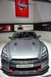 Nissan GT-R Nismo bij de de Motorshow van Genève Stock Fotografie