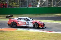 Nissan GT-R Nismo GT3 bij de Monza-Kring Stock Foto