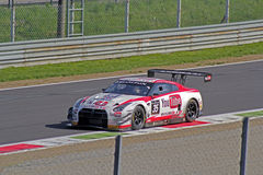 Nissan gt-r nismo gt3. On track Stock Image