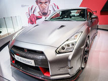 Nissan GT-R Nismo, Motor Show Geneve 2015. Stock Image