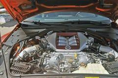 Nissan GT-R Nismo Wysokiego występu silnik Zdjęcia Stock