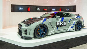 Nissan GT-R, Specialty Equipment Market Association SEMA, Las Royalty Free Stock Photography