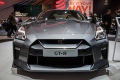 2017 Nissan GT-R sportów samochód Zdjęcia Royalty Free