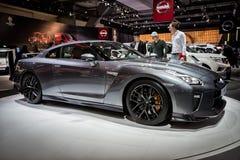2017 Nissan GT-R sportów samochód Obrazy Royalty Free
