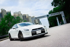 Nissan GT-R Super Car Royalty Free Stock Photography