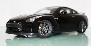Nissan GT-R Vista lateral Imágenes de archivo libres de regalías