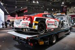 NISSAN GT3 samochód wyścigowy Zdjęcie Stock