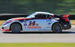 Nissan GTR ścigać się Zdjęcia Royalty Free