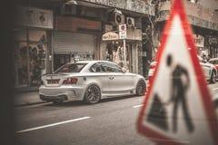 Nissan GTR στο Χονγκ Κονγκ Στοκ Φωτογραφίες