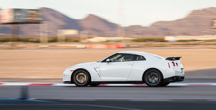 Nissan gtr photo libre de droits
