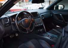 Nissan GTR Black Edition Stock Photography