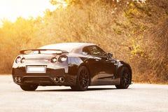 Nissan GTR Black Edition Royalty Free Stock Image