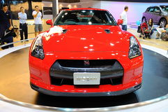Nissan Gtr On Display Royalty Free Stock Image