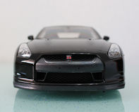 Nissan GTR front view Stock Images