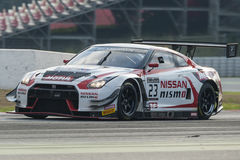 Nissan GTR Nismo GT3.  Blancpain GT Series Championship Stock Photos